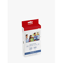 Buy Canon KP-36IP Print Pack Online at johnlewis.com