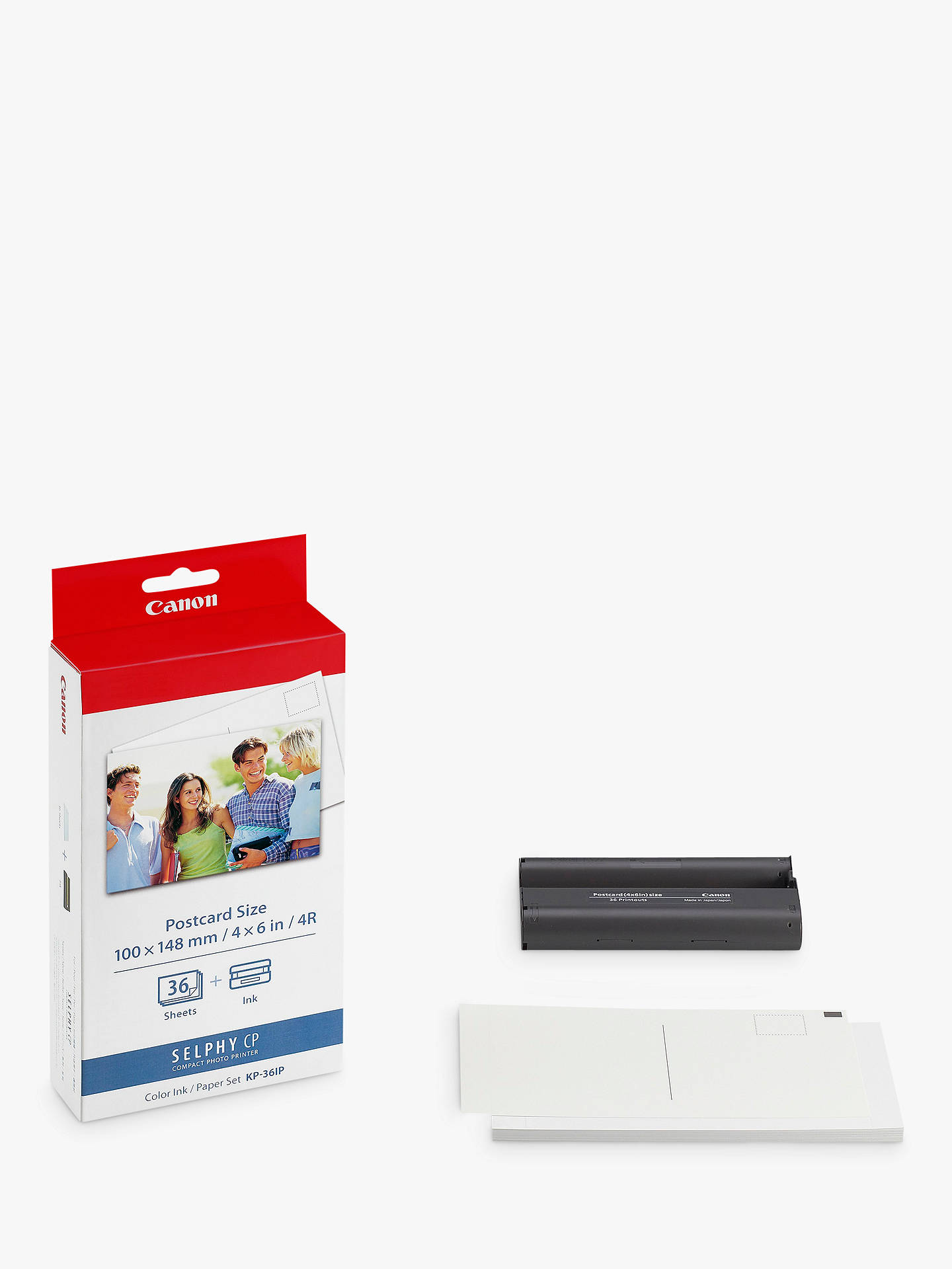 BuyCanon KP-36IP Print Pack Online at johnlewis.com