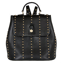 Buy Somerset by Alice Temperley Berkley Stars Leather Backpack, Black Online at johnlewis.com