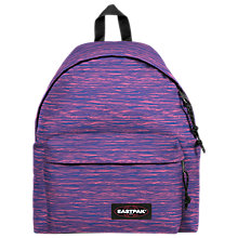 Buy Eastpak Padded Pak'r Backpack, Knit Pick Online at johnlewis.com