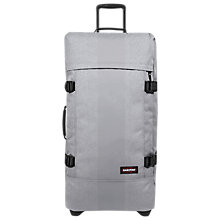 Buy Eastpak Tranverz Large 79cm 2-Wheel Suitcase, Rubber Grey Online at johnlewis.com