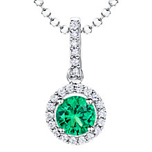 Buy Jools by Jenny Brown Cubic Zirconia Suspended Circle Necklace Online at johnlewis.com
