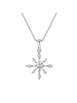 Jools by Jenny Brown Cubic Zirconia Twinkling Star Necklace, Silver
