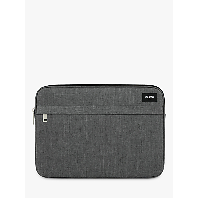 Jack Spade Tech Oxford Sleeve for 13 Laptops, Grey