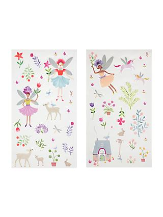 Little home at john lewis country fairies wall stickers