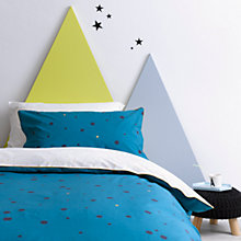 Buy Christy Galaxy Spot Print Cotton Duvet Cover and Pillowcase Set, Single Online at johnlewis.com
