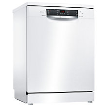 Buy Bosch SMS46IW03G Freestanding Dishwasher, White Online at johnlewis.com