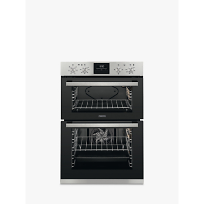 Zanussi ZOD35661XK Built-In Multifunction Electric Double Oven, Stainless Steel Review thumbnail