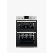Buy Zanussi ZOD35661XK Built-In Multifunction Electric Double Oven, Stainless Steel Online at johnlewis.com
