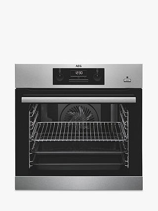 Buy AEG BES351010M Built-In Multifunction Single Oven, Stainless Steel Online at johnlewis.com