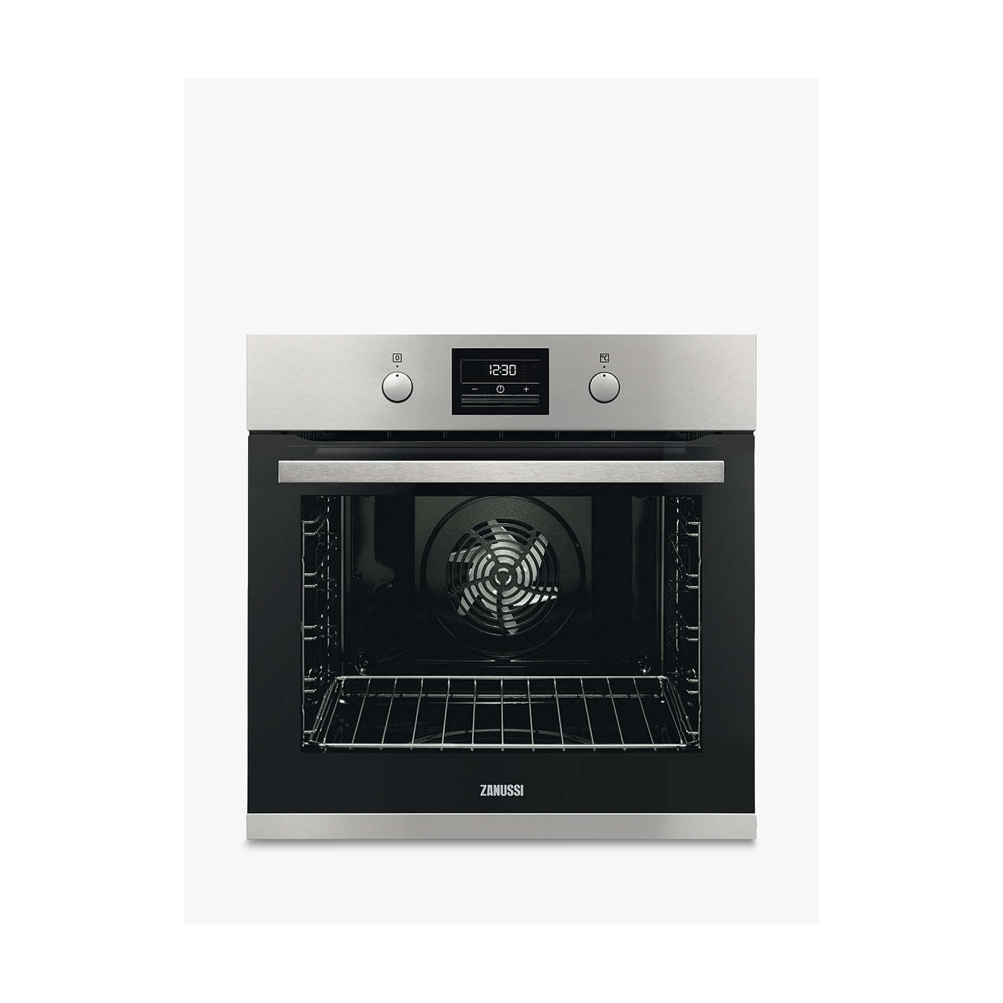 zanussi zop37982xk built in single electric oven stainless steel at rh johnlewis com
