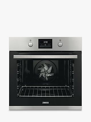 Zanussi ZOP37982XK Built-In Single Electric Oven, Stainless Steel