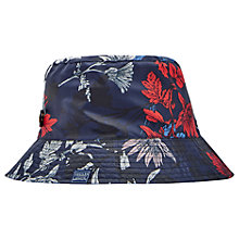 Buy Joules Floral Rain Hat, Navy/Multi Online at johnlewis.com