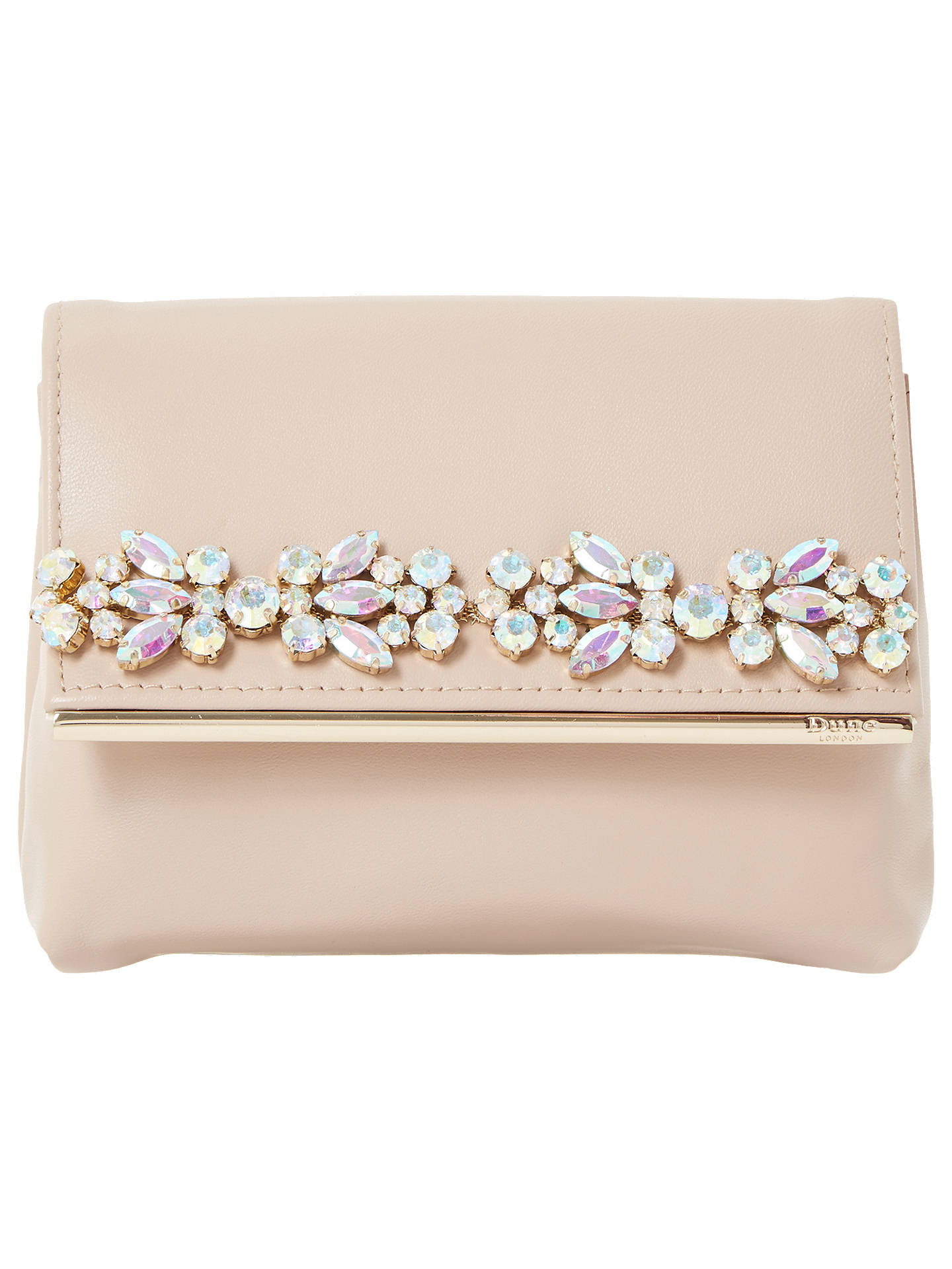 1430dff7bfc Buy Dune Beyond Clutch Bag, Pink Online at johnlewis.com ...