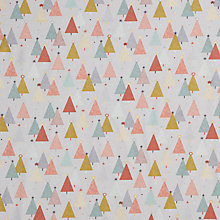 Buy Makower UK Metallic Trees Print Fabric Online at johnlewis.com