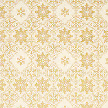 Buy Oddies Textiles Grand Snowflake Print Fabric Online at johnlewis.com