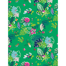 Buy Dashwood Studio Club Tropicana Jungle Leaf Print Craft Fabric, Green Online at johnlewis.com