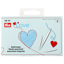 Buy Prym Love Assorted Needles and Threader Online at johnlewis.com