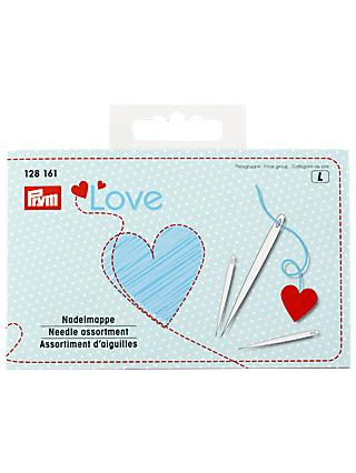Prym Love Assorted Needles and Threader