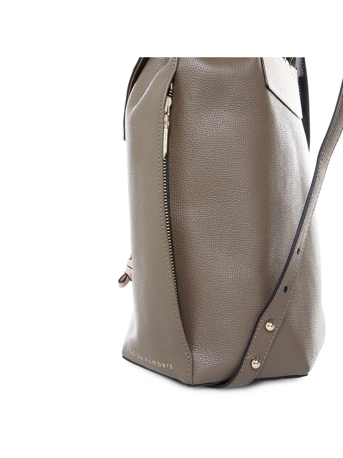80f7eb65ff171 Ted Baker Colour By Numbers Cereza Leather Backpack at John Lewis ...