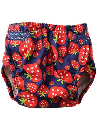 Konfidence Baby Strawberry Swim Nappy