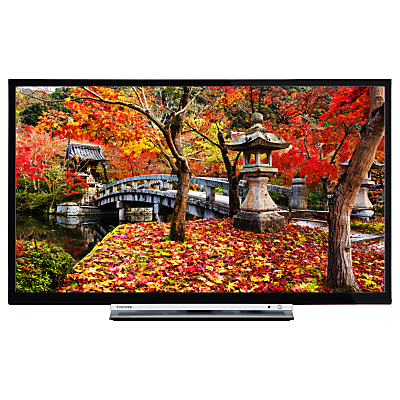 Toshiba 32L3753DB LED Full HD 1080p Smart TV, 32 with Built-In Wi-Fi, Freeview HD & Freeview Play, Black