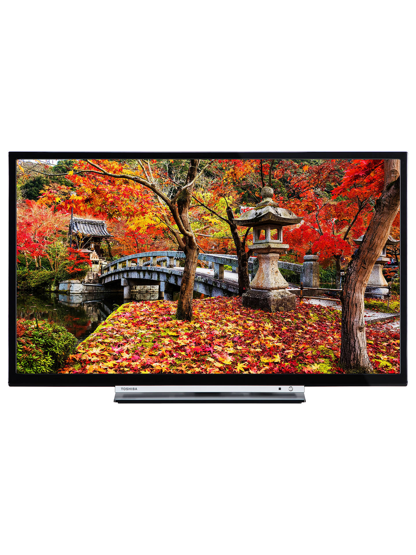 "Toshiba 32L3753DB LED Full HD 1080p Smart TV 32"" with Built In Wi"