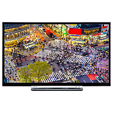 "Buy Toshiba 24D3753DB LED HD Ready 720p Smart TV/DVD Combi, 24"" with Built-In Wi-Fi, Freeview HD & Freeview Play, Black Online at johnlewis.com"