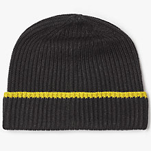 Buy Kin by John Lewis Ribbed Beanie Hat, One Size Online at johnlewis.com