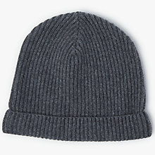 Buy John Lewis Made in Italy Cashmere Beanie Hat, One Size Online at johnlewis.com