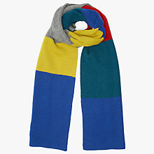Buy Kin by John Lewis Block Stripe Scarf, Multi Online at johnlewis.com