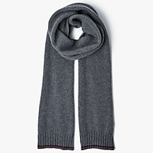 Buy John Lewis Made in Italy Cashmere Single Stripe Scarf Online at johnlewis.com