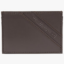 Buy Diesel Johnas Leather Card Holder, Coffee Online at johnlewis.com