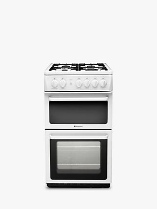 Hotpoint HAG51P Newstyle Gas Cooker, White