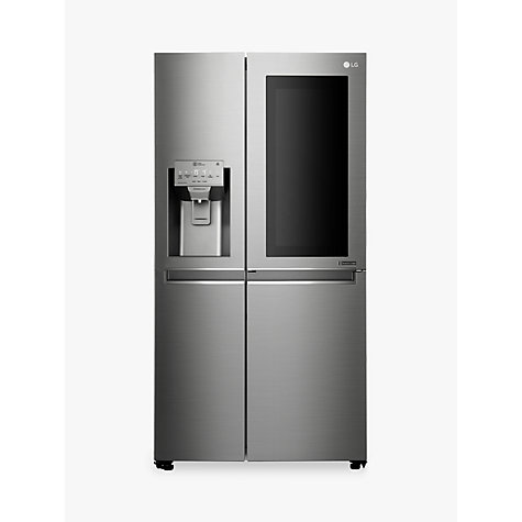buy lg gsx961nsaz insta view american style non plumbed fridge freezer a energy rating 90cm. Black Bedroom Furniture Sets. Home Design Ideas