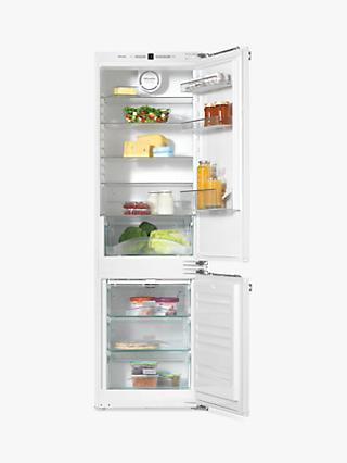 Miele KFN37232iD Fridge Freezer, A++ Energy Rating, 54cm Wide, White