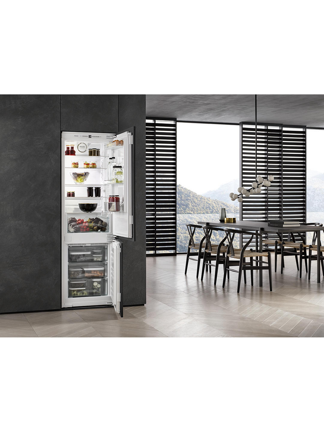 Buy Miele KFN37232iD Integrated 60/40 Fridge Freezer Online at johnlewis.com