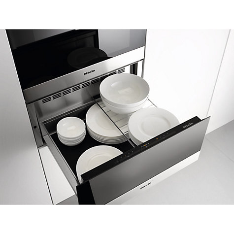 Warming Drawer Miele Tucked Behind A Wall With Easy