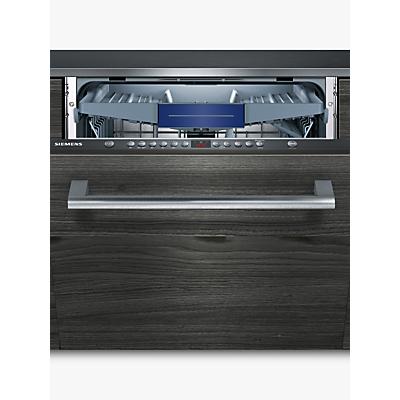 Siemens SN636X00KG Integrated Dishwasher, Black