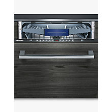 Buy Siemens SN636X00KG Integrated Dishwasher, Black Online at johnlewis.com