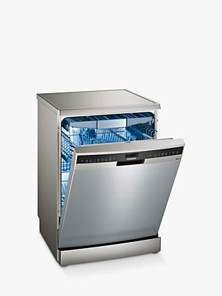 Siemens SN258I06TG Freestanding Dishwasher with Home Connect, Silver