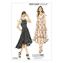 Buy Vogue Very Easy Women's Dresses Sewing Pattern, 9252 Online at johnlewis.com