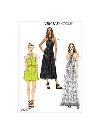 Vogue   Sewing Patterns   John Lewis & Partners
