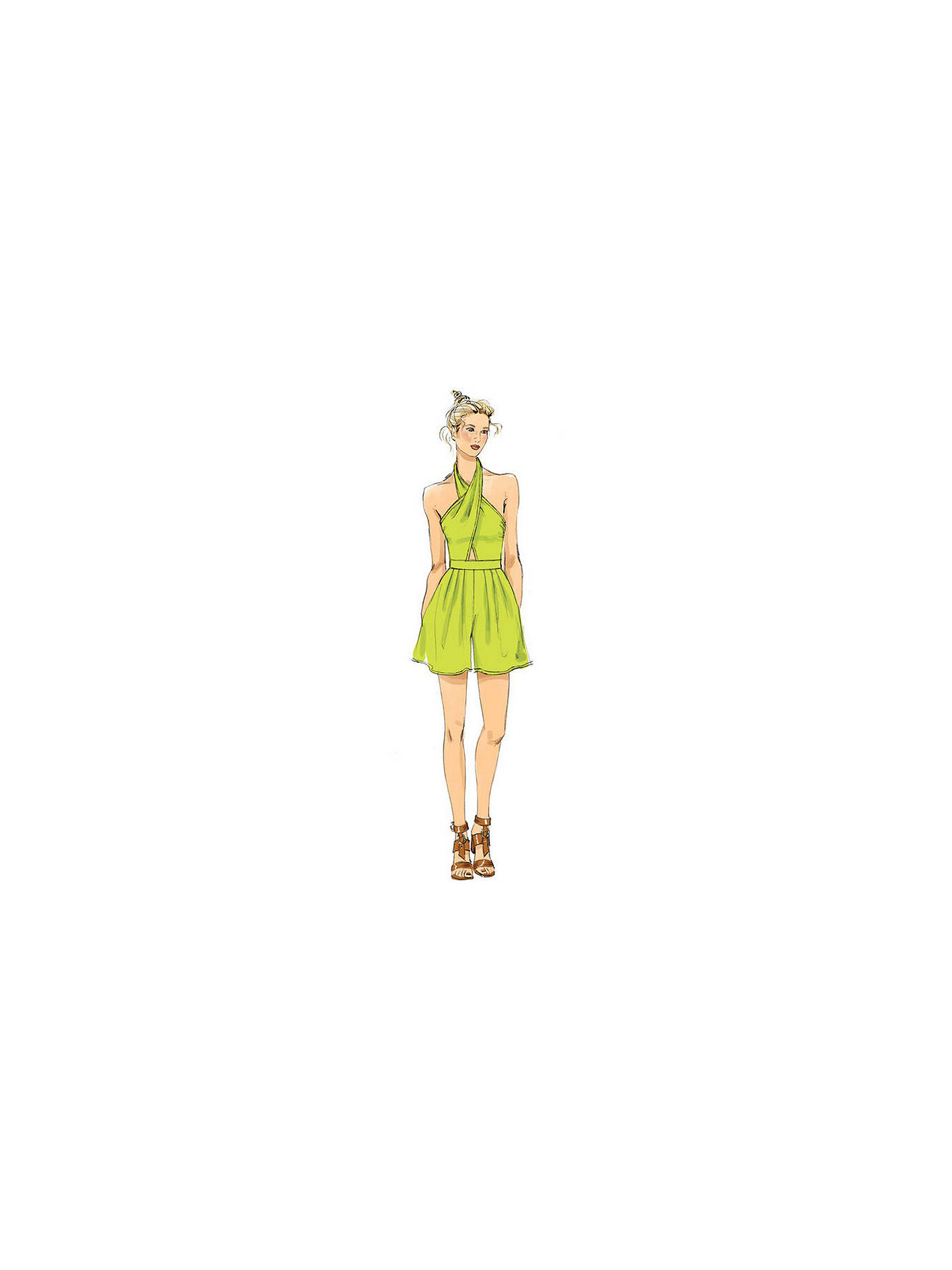 Vogue Women\'s Jumpsuit and Playsuit Sewing Pattern, 9259 at John ...