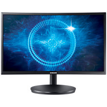 "Buy Samsung C24FG70FQU Curved Full HD Quantum Dot Gaming Monitor, 24"" Online at johnlewis.com"