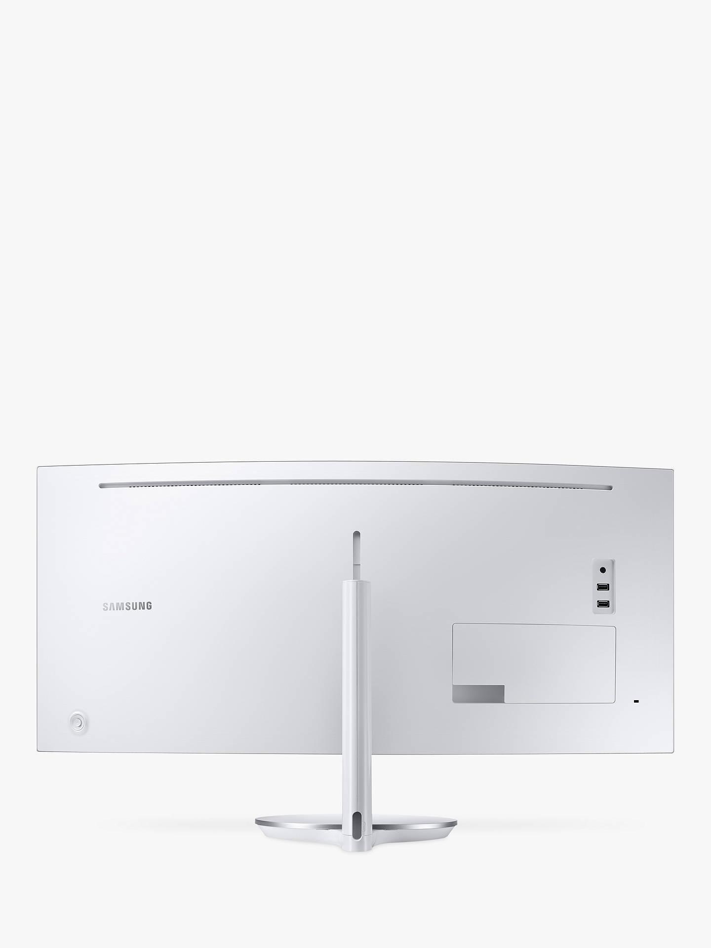 Samsung C34F791WQN Curved Ultra Wide Quad HD Quantum Dot Monitor, 34