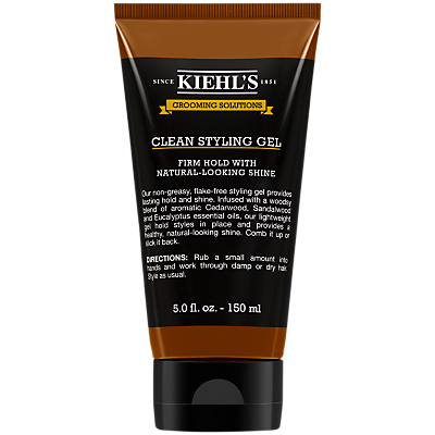 Product photo of Kiehl s grooming solutions clean styling gel 150ml