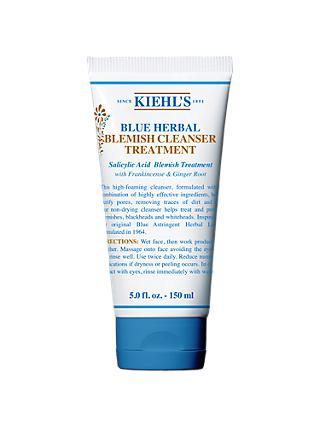 Kiehl's Blue Herbal Blemish Cleanser Treatment, 150ml