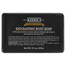 Buy Kiehl's Grooming Solutions Exfoliating Body Soap Bar, 200g Online at johnlewis.com
