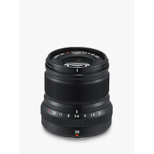 Buy Fujifilm XF50mm F2 R WR Lens Online at johnlewis.com